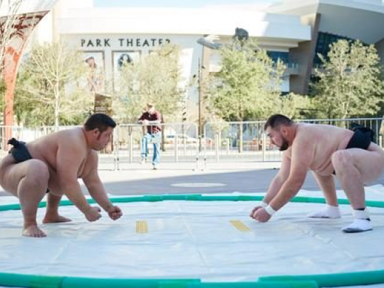 Ultimate Sumo League Debuts at Park Theater Saturday, April 28