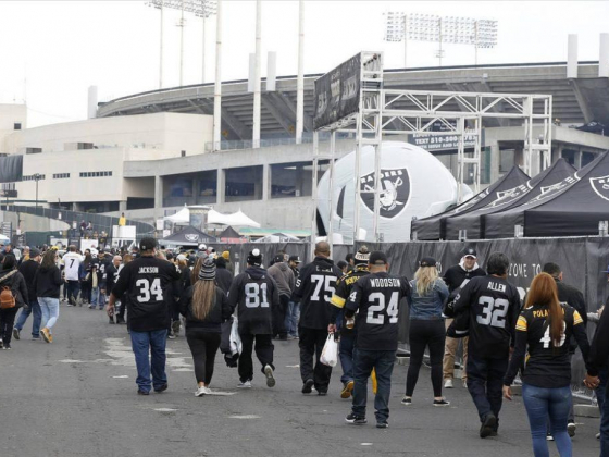 Odds are on Raiders to return to Oakland in 2019