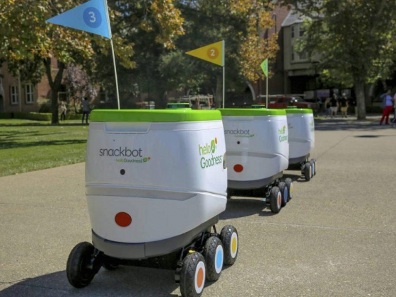 PepsiCo testing self-driving robot delivery