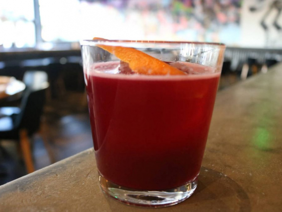 Learn how to make Momofuku's Bok to the Beet cocktail