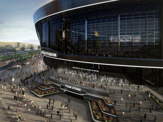 Lanai doors, translucent roof will give Raiders stadium outdoorsy feel