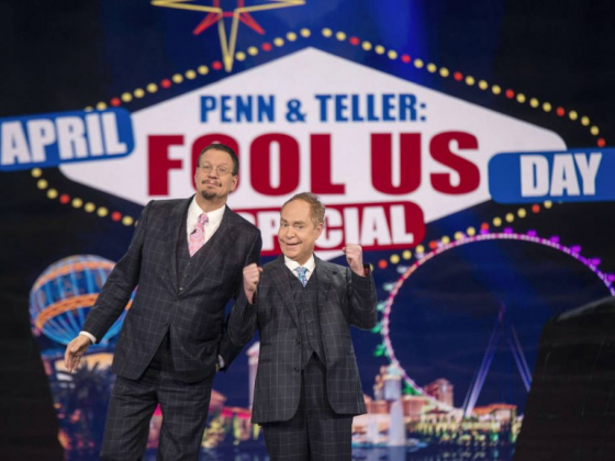 Get free tickets to a Penn & Teller TV taping in Las Vegas