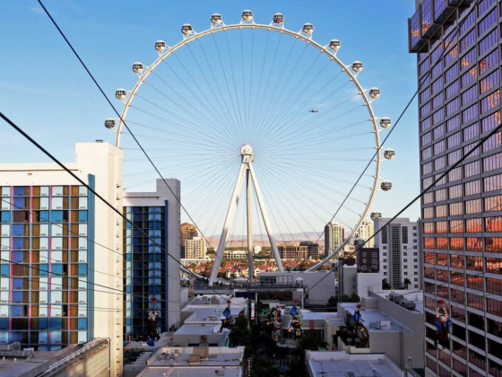 The Linq Hotel files plans for virtual reality theater dome