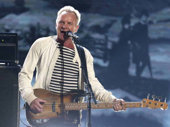 Sting announces residency on Las Vegas Strip
