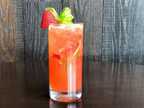 Make MB Steak's summery Strawberry Smash