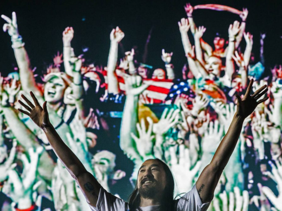 New Fremont Street Experience light show gets Steve Aoki tunes