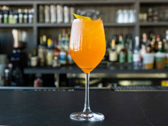 Make Locale's twist on an Aperol spritz