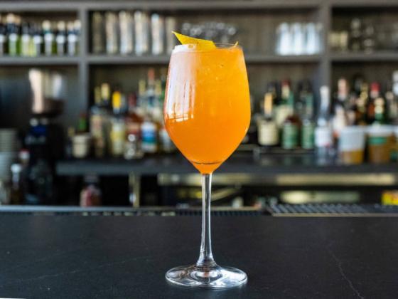 Make Locale's twist on an Aperol spritz