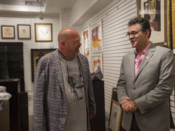 'Pawn Stars' star Rick Harrison opens first Las Vegas Strip store