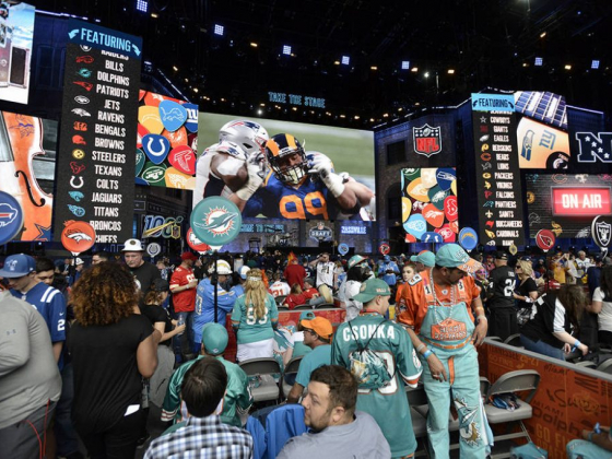 NFL Draft details, Las Vegas locations to be revealed Nov. 26