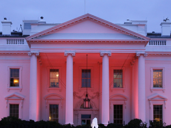 White House to glow pink for National Breast Cancer Awareness Month