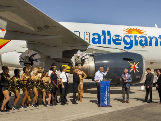 Allegiant Travel adds Las Vegas service to 3 cities