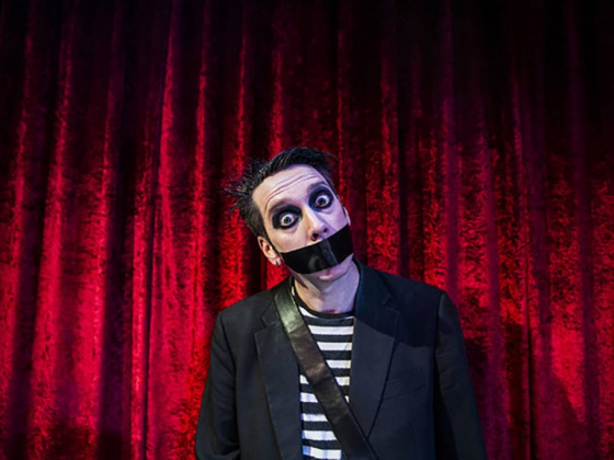 Las Vegas headliner Tape Face staying out of sight