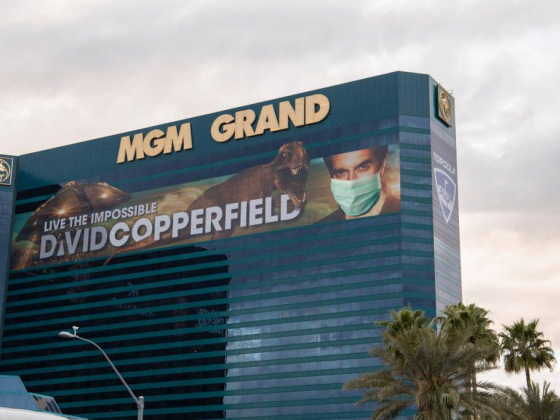 Las Vegas prop specialist adds masks to the Strip