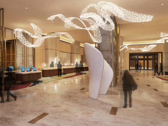 Resorts World gives sneak peek at guest rooms, lobby