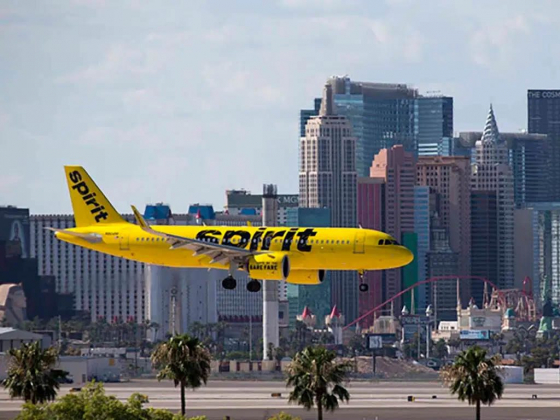 Spirit to offer nonstop flights between Las Vegas and Orange County