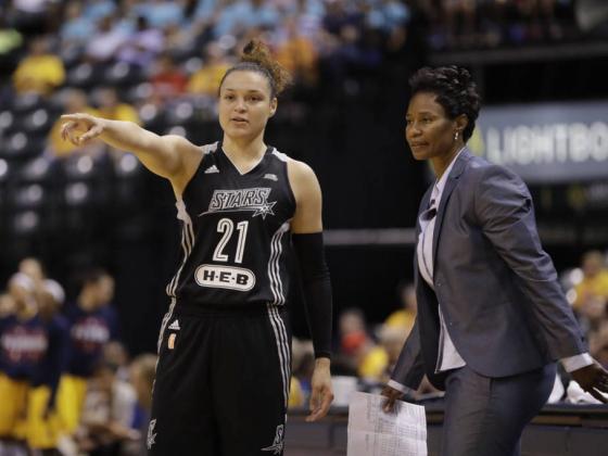 Report: WNBA's San Antonio Stars moving to Las Vegas