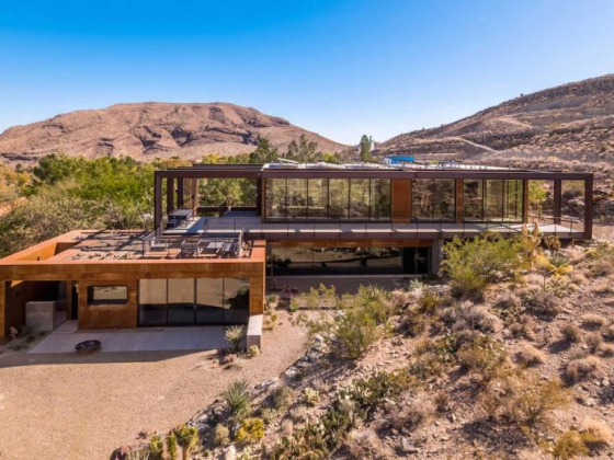 Rural modern masterpiece in Blue Diamond lists for $5.35M