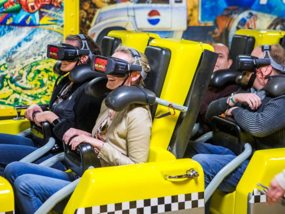 Las Vegas Strip roller coaster now comes with VR thrills