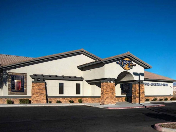 PT's opened a new location opened near the intersection of Maule Avenue and Fort Apache Road. (Golde
