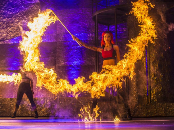'Inferno' turns Paris Theater into its own fireplace