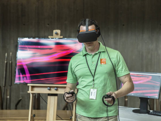 VR lets Springs Preserve visitors 'Paint on Air'