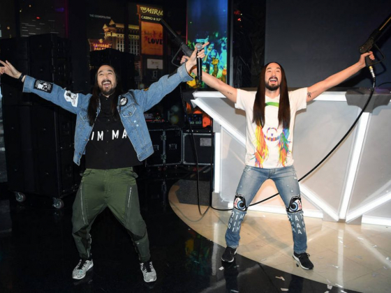 At Madame Tussauds, Steve Aoki gives himself a frosty reception