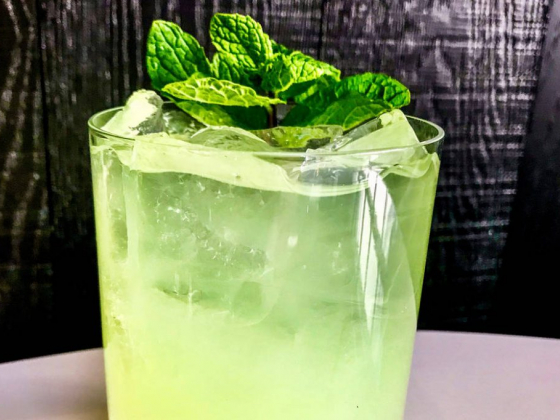 MB Steak makes a Get Lucky cocktail for St. Patrick's Day