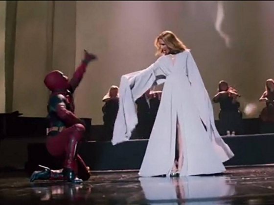 A bit of wit from Celine Dion in 'Deadpool 2' video