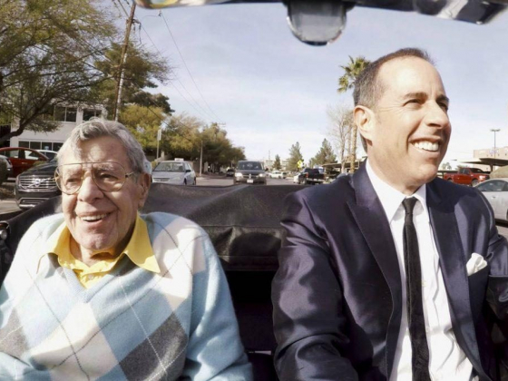 Jerry Lewis looks back on his life in 'Comedians in Cars'