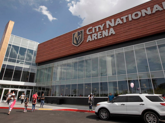 Golden Knights' City National Area worth visit even in offseason