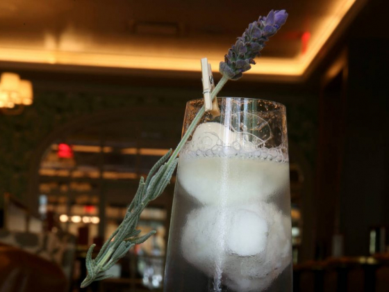 Primrose's lavender cocktail is perfect for summer in Vegas